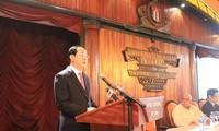 Staatspräsident Tran Dai Quang nimmt an vietnamesisch-kubanischem Unternehmerforum teil