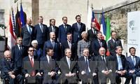 G7-Finanzminister geben Abschlusserklärung ab