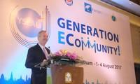 """Workshop der jungen Leiter der ASEAN """"Generation ECommunity!"""""""