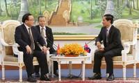 Feier zu 50 Jahren der Beziehungen zwischen Vietnam und Kambodscha