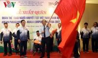 Delegation behinderter Sportler Vietnams beteiligt sich an 9. ASEAN Para Games