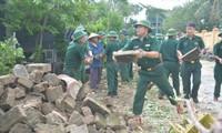 Beseitigung von Folgen des Taifuns Doksuri