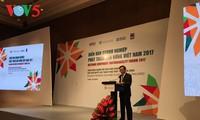 Unternehmensforum für nachhaltige Entwicklung 2017 in Hanoi eröffnet