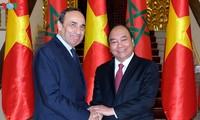 Vietnam und Marokko anstrengen sich bei Erhöhung des Handelsvolumens