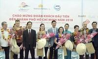 Vietnam empfängt mehr als 1,43 Millionen Touristen im Januar 2018