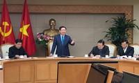 Sitzung des Verwaltungsstabs für Privatisierung und Restrukturierung staatlicher Unternehmen