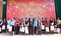 Staatspräsident Tran Dai Quang besucht Kon Tum