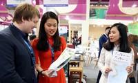 Ausstellung vietnamesischer Karten auf Internationaler Tourismus-Börse in Berlin 2018