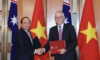 Neues Niveau der Beziehungen zwischen Vietnam und Australien