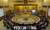 Arabische Außenminister führen eine Sitzung über die Verlegung der US-Botschaft nach Jerusalem