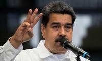 Wähler in Venezuela wählen einen Präsiden