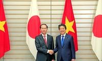 Japans Medien berichten über Vietnam-Japan-Zusammenarbeit