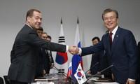 Russland und Südkorea wollen in Wirtschaft und beim Nordkoreaproblem verstärkt zusammenarbeiten