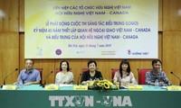 Wettbewerb zum Logo-Erstellen für 45-Jahr-Feier diplomatischer Beziehungen Vietnam-Kanada gestartet