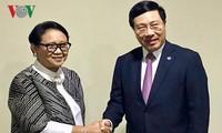 Vietnam und Indonesien wollen das Handelsvolumen auf 10 Milliarden US-Dollar im Jahr 2020 erhöhen