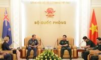 Generaloberst Phan Van Giang empfängt Vizegeneralstabschef Neuseelands