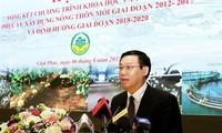 Vizepremier Hue nimmt an Konferenz über Technologien für Neugestaltung ländlicher Räume teil