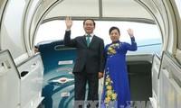 Staatspräsident Tran Dai Quang besucht Äthiopien und Ägypten