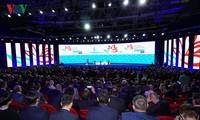 Östliches Wirtschaftsforum erwähnt wichtige internationale Fragen