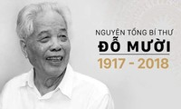 Sondermitteilung über Trauerfeier für ehemaligen KPV-Generalsekretär Do Muoi