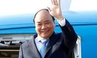 Premierminister Nguyen Xuan Phuc bricht nach Europa auf