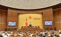 Parlamentssitzung: Abgeordnete hören Vorlage des Gesetzes gegen Folgen von Alkohol
