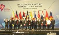 Vizepremierminister, Außenminister Pham Binh Minh nimmt an ASEAN-Konferenzen teil
