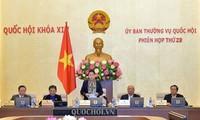 Abschluss der 29. Sitzung des Ständigen Parlamentsausschusses