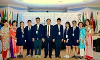 Vietnam gewinnt den 3. Platz der Internationalen Junior Science Olympiade