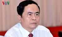 Vorsitzender der Vaterländischen Front Vietnams beglückwünscht Katholiken zu Weihnachten 2018
