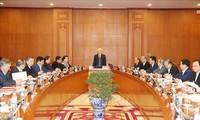 1. Sitzung der Unterabteilung für Dokumente des 13. Parteitags