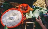 Vietnamesisches Tetfest bei ausländischen Freunden