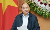Premierminister Nguyen Xuan Phuc leitet die Sitzung der Unterabteilung für Sozialwirtschaft
