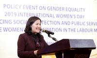 Geschlechtergleichberechtigung durch Sozialpolitik fördern