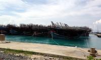 Schiffsanlegestelle Sinh Ton – Stützpunkt der Fischer bei der Seefahrt
