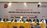 Aufbau gemeinsamer Eigenschaften der ASEAN