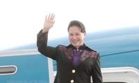 Parlamentspräsidentin Nguyen Thi Kim Ngan besucht Frankreich