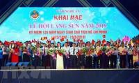 Fest des Sen-Dorfes 2019 eröffnet