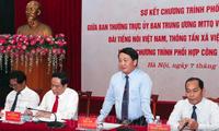 Aufklärung über 9. Konferenz der Vaterländischen Front Vietnams