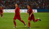 U23-Fußballmannschaft Vietnams besiegt U23-Mannschaft Myanmars mit 2:0
