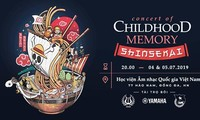 """Concert of Childhood Memory"" in der Nationalen Musikakademie in Hanoi"