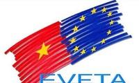 Gespräch über Abkommen EVFTA und IPA
