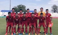 U15-Fußballmannschaft Vietnams gewinnt zum ersten Mal ein Spiel der AFF-U15-Meisterschaft