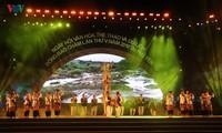 Abschluss des Festtags für Kultur, Sport und Tourismus der Cham