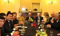 Aktivitas Presiden Vietnam, Truong Tan Sang dalam kunjungan resmi di Amerika Serikat