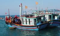 Diaspora Vietnam di Perancis menggalang dana untuk membantu para nelayan pulau Ly Son
