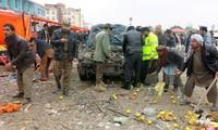 Serangan bom berani mati sehingga menimbulkan banyak korban di Afghanistan
