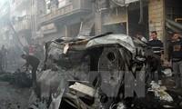 IS melakukan serangan bom terhadap gereja Kristen di Suriah