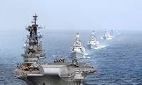 India, Jepang dan AS akan segera melakukan latihan perang bersama di Samudra Hindia