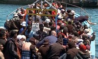 Lebih dari sejuta migran masuk Eropa melalui jalan laut pada tahun 2015
